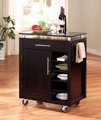 rolling kitchen islands rolling portable kitchen island cart decor trends my portable