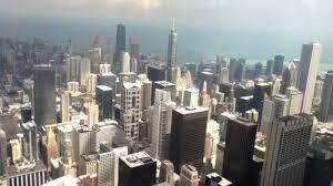 top of sears willis tower view of chicago illionis youtube