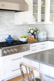 gray countertops with white cabinets gray countertops unique white cabinets marble linear backsplash