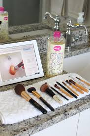 the best way to clean makeup brushes a slice of style