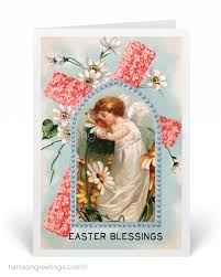 easter greeting cards religious vintage easter greeting cards 10575 harrison