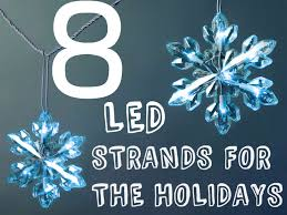 8 energy efficient led light strands for the holidays inhabitat