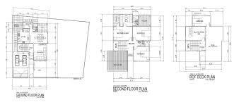 residential plan 2d cad drawings