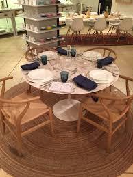 wishbone chairs by hans wegner soap oak saarinen arabescato
