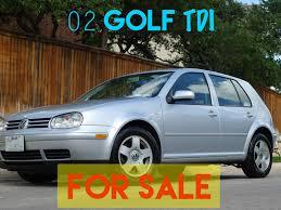 2004 Golf Tdi 2002 Vw Golf Tdi 5spd Pristine For Sale 8 500 Satx