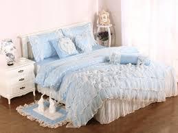 Waterfall Comforter Bedroom Tan Ruffle Bedding Beige Ruffle Comforter Ruffle