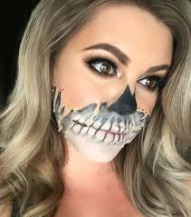 Makeup Looks For Halloween by Melted Makeup Look For Halloween Popsugar Beauty