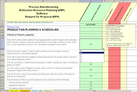 manufacturing risk assessment template erp software evaluation selection process manufacturing erp system