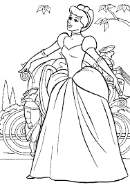 print u0026 download disney cinderella coloring pages