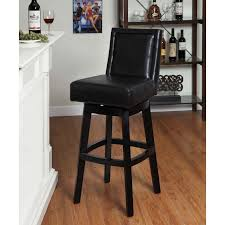 Bar Stool With Arms And Back Furniture Luxury Black Leather Bar Stools Counter Height For