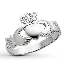 claddagh rings jared women s claddagh ring 14k white gold promise rings