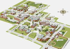 Ohio University Map by Download University Map Major Tourist Attractions Maps
