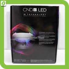 cnd 3c led l cnd led light shellac professional l nail dryer 3c tech free uk