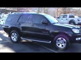 toyota 4runner limited 4wd for sale 2004 toyota 4runner limited v6 4wd 1 owner stk 21035a