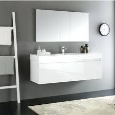 Modern Bathroom Vanity Mirror - vanities wall mount bathroom vanity without top traverse modern
