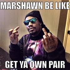 Marshawn Lynch Memes - lol anyone who agrees with what marshawn lynch is doing is a
