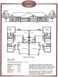 architecture home designs with house plans cool image duplex 2600