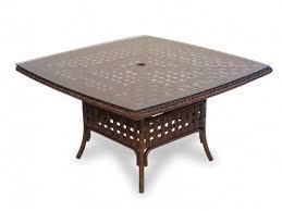 42 Patio Table Lloyd Flanders Haven Wicker Patio 42 Inch Square Conversation
