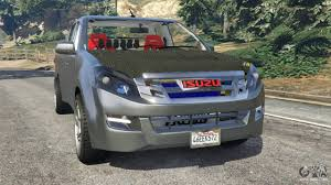isuzu dmax 2015 isuzu d max for gta 5