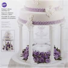 wedding cake accessories cake accessories wilton