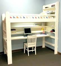 Top Bunk Bed With Desk Underneath Bed With Desk Underneath Raised Bed With Desk Underneath