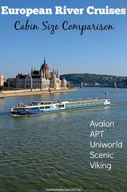 europe river cruises cabin size comparison