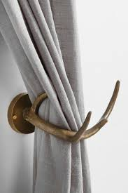 Urbanoutfitters Curtains Magical Thinking Antler Curtain Tie Back Magical Thinking