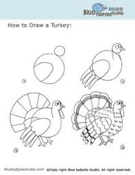 how to draw a turkey thanksgiving thanksgiving