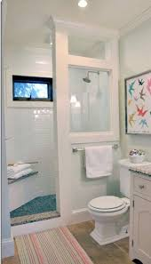 Bathroom Shower Ideas On A Budget Open Shower W Windows But Angled Cornter Would Reflect Water