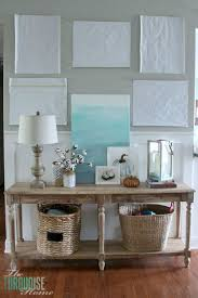 console table decor ideas console table update decor and frame placement