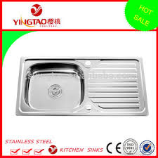 drop in kitchen sink with drainboard sri lanka single bowl sink with drainboard factory directly drop on