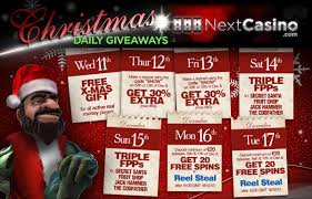 week christmas calendar at next casino