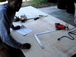 Make A Picnic Table Out Of One Sheet Of Plywood by Picnic Table Part 1 Youtube
