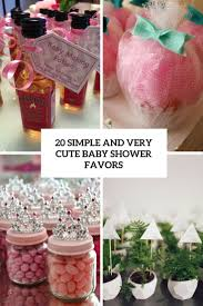 simple baby shower decorations 20 simple and baby shower favors shelterness