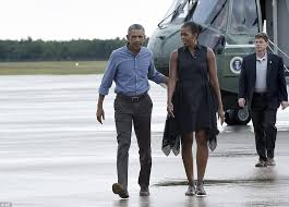 Vacation Obama President Obama And Family Return To White House After Vacation