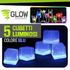bicchieri fluorescenti ghiaccio luminoso fluorescente fluo glow starlight bicchieri
