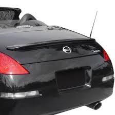 nissan 350z lip spoilers custom u0026 factory style u2013 carid com