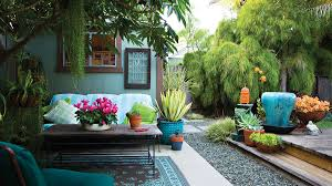 Small Yards Sunset - Small backyards design