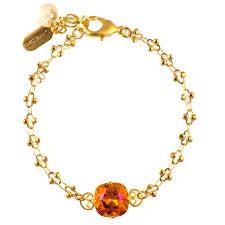bracelet fire images Clara beau sweet single stone fire opal crystal bracelet in gold jpg