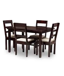 Solid Wood Furniture Online India Solid Wood 4 Seater Dining Set Buy Solid Wood 4 Seater Dining