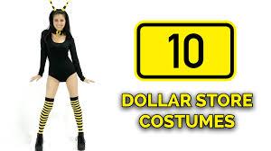 costume shop halloween 10 last minute dollar store halloween costume ideas youtube