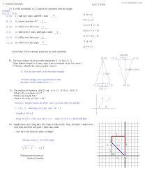 geometry transformation worksheet worksheets