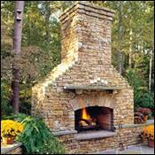 Outdoor Fireplaces And Firepits Plain Decoration Outside Fireplace Enjoyable Ideas Outdoor