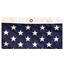 American Flag Header American Flag 10ft X 15ft Sewn Nylon By Valley Forge Flag