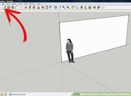 How To Make A Floor Plan In Google Sketchup by How To Create A Living Space In Sketchup 9 Steps With Pictures