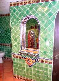 faux talaverra tiles bathrooms one two three four