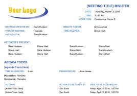 meeting minutes templates free meeting minutes template for microsoft word