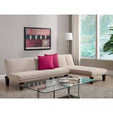 Chaise Lounges For Living Room Dhp Dillan Chaise Tan Walmart Com