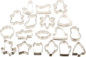 cookie cutters wilton 18 pc metal cookie cutter set 2308