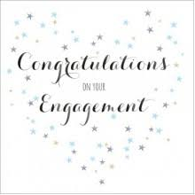 Congratulations On Your Engagement Card Engagement Card You U0027re Engaged Congratulations To You Both